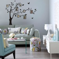 Foto-Baum Belüftung-Wand-Abziehbild-anhaftende Wandkunst-Ausgangsdekor-Wand-Aufkleber der Wand-Aufkleber-180*250cm 3D DIY für Hauptabsinken-Verschiffen