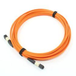 câble fibre optique à plusieurs modes de fonctionnement de la bande 12cores avec le connecteur de MPO/MTP