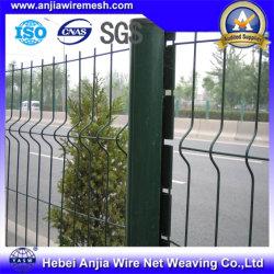 Galvanizado revestido de PVC de malha de arame soldado auto-estrada da Barragem Barreira de Segurança
