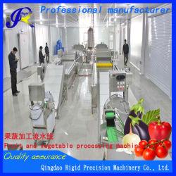 Produit agricole de la rondelle de légumes, la coupe, matériel de conditionnement des aliments de la machinerie