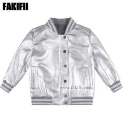 China As crianças de fábrica de confecção de vestuário infantil menina inverno/Rapaz jaqueta de prata por grosso de vestuário de moda