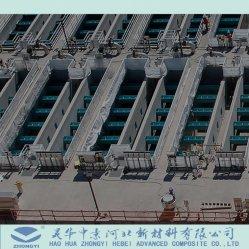 El FRP GRP cubierta de la Azud de fibra de vidrio para la minería colono Mezclador de Espesante