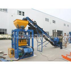 Qt4-24beconomicのセメントの砂のクラッシュの石の半自動煉瓦作成機械