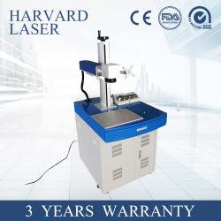 Professional Pequena mesa marcador a Laser de fibra para metais