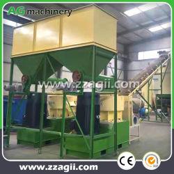 500kg 1t 2t 3t komplette schlüsselfertige Herstellung von Biomasse-Holzpellets Linie