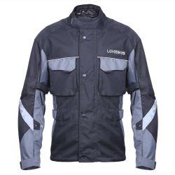Industria textil invierno chaquetas de moto acuática con armadura