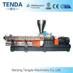 2016 Tengda Venta caliente de doble tornillo de alta calidad de la máquina de extrusión de lámina de plástico