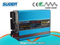 Suoer Contrôleur solaire intégré DC 12V 1000W de puissance onduleur (SUS-1000A)