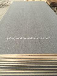 Chapa de madera natural MDF / Ingeniería de chapa de madera MDF (ceniza, nogal, hayas, teca, roble)