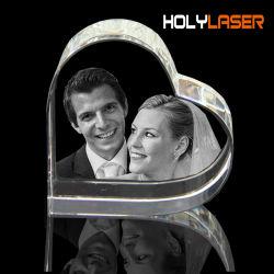 2D 3D-фотографии Crystal стекла лазерного внутренний внутри российских атомных подводных гравировка машины с камерой цена