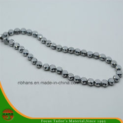 10mm Crystal Bead, bouton Pearl perles de verre accessoires (HAG-08#)