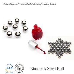 Anti-Rust/Anti-Magnetic шарик из нержавеющей стали для косметических лак для ногтей заслонки смешения воздушных потоков
