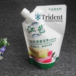 Detergente líquido de lavagem/sacos de embalagem plástica com bico
