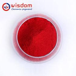 1300c haute temp glaçure en céramique résistant à l'inclusion de coloration des pigments rouges pour la céramique