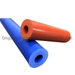 Temperatura extrema barato el tubo de goma espuma de silicona o los tubos o tuberías