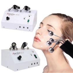 La máquina de apretar la piel de EMS RF Bio Micro-Current terapia magnética la fascia de los Ganglios de la máquina de masaje facial ojos cuello Levante