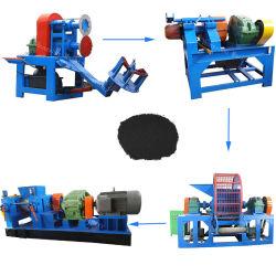 Auto-560d máquina de reciclaje de neumáticos de la máquina de polvo de caucho de negocios