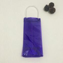 Custom rechargeables bouteille en plastique de voyage en PVC de la glace du refroidisseur de vin rouge sac fourre-tout comme un don de commerce de gros