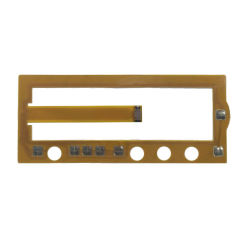 Flexible Leiterplatte mit Folientastatur von Snaptron Dome