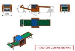 Hsn2400b reduzindo desperdícios de fios