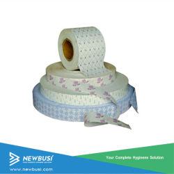 Produits hygiéniques jetables serviette hygiénique du papier de libération de matières premières