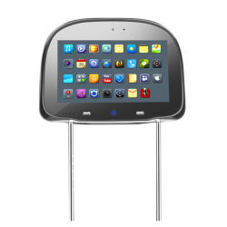 Ecrã táctil de 9 Polegadas Bluetooth-Enabled carro-de-cabeça HD DVD para entretenimento multimédia