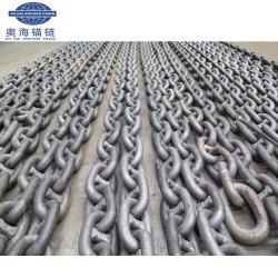 La cadena de ancla marina Stud vínculo con el certificado de ABS