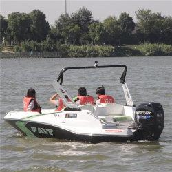 Commerce de gros 5 sièges 150lecteurs HP à l'extérieur jet bateau en fibre de verre