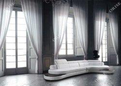 Unión conjunto Sofá de diseño moderno con luz LED