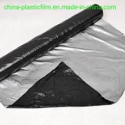 20mic 25mic 30mic 20um 25um 30um Silver черные пластиковые пленки для мульчирования черного цвета серебристый пластиковую пленку Greenhosue пленки полиэтиленовой пленкой растянуть пленку