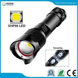 Xhp99 1800lm 9 Modi Zoomable Wasser-beständiges der Kern-taktisches Taschenlampen-5 für kampierende Fackel