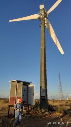 380V 100kw de potencia del generador de viento Horizontal Station (SHJ-WH100K)