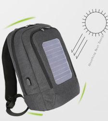 Alimentação de Energia Solar antirroubo mochila de carga com porta de carregamento USB
