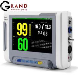 휴대용 고해상 7.4 인치 TFT 컬러 화면 출력 장치 의학 Multi-Parameter 외과 병원 감시 체계 모듈 침대 곁 생활력 징후 참을성 있는 모니터