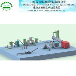 Les machines d'appuyer sur la biomasse granulés pour paille du riz