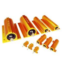 مقاوم Rx24 500 واط 100 واط من الألومنيوم Shell Gold مع الجرح