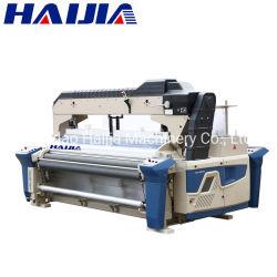 Haijia dernier modèle de buse double Dobby effusion haute densité métier à tisser à jet d'eau à haute vitesse (HW8010 basée sur Tsudakoma 8100)