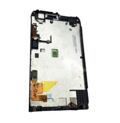 Hochwertige 3,7 Zoll für HTC One V T320e G24 LCD Display + Touchscreen Digitizer-Baugruppe mit Rahmen Schwarz Farbe