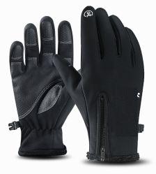 Het Cirkelen van de Fiets van het Weer van de Handschoen van het Scherm van de Aanraking van de Handschoenen van de winter het Warme Koude Wind Waterdichte Drijven die van de Motorfiets Beklimmend de Berijdende Handschoenen van de Fiets skien