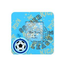 Fr71 Standard Cadre Photo en bois de football de l'aimant pour les enfants