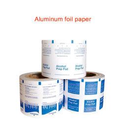 L'emballage de qualité alimentaire de couleur du papier aluminium recouvert de papier d'emballage en plastique laminé