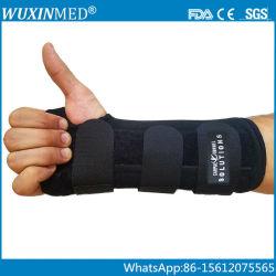 医学の整形外科の前腕の手首サポート波カッコ