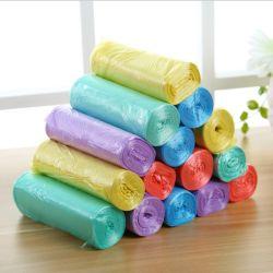 Farbiger Plastikrollenflache Beutel-schwarzer Plastiknahrungsmittelabfall-biodegradierbarer Verpackungs-Handsystem-Abfall-Abfall-Hochleistungsabfall-verpackenbeutel