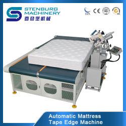 Automatico-Lanciare/capovolgere la macchina del bordo del nastro/macchina per cucire del materasso/punto Chain
