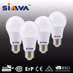 A60 E27 10W Dim lâmpada LED com marcação CE e RoHS