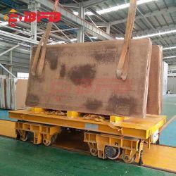 حامل النقل الصناعي الكهربائي الذي يعمل بالتحكم عن بُعد على القضيب