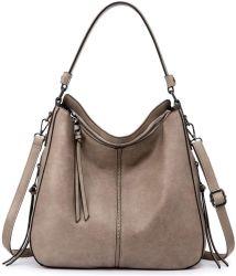 Borsa di lusso del Hobo della borsa della signora stilista caldo del cuoio del Vegan dell'unità di elaborazione di vendita per le donne