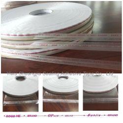 Enveloppe en polyéthylène de 5 mm bande adhésive de scellage, bande imprimée, Peel et le joint cassette, sac refermable bande adhésive de scellage en PE Libérer la chemise