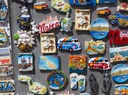 decorazione Handmade della casa del mestiere dell'autoadesivo magnetico del frigorifero del ricordo di corsa della Tailandia Corea Germania Vienna Monaco del magnete del frigorifero 3D
