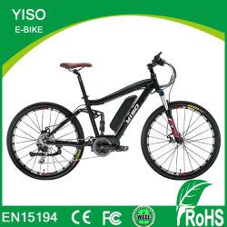 Liga com suspensão total do elevador eléctrico de garfos de bicicletas de montanha